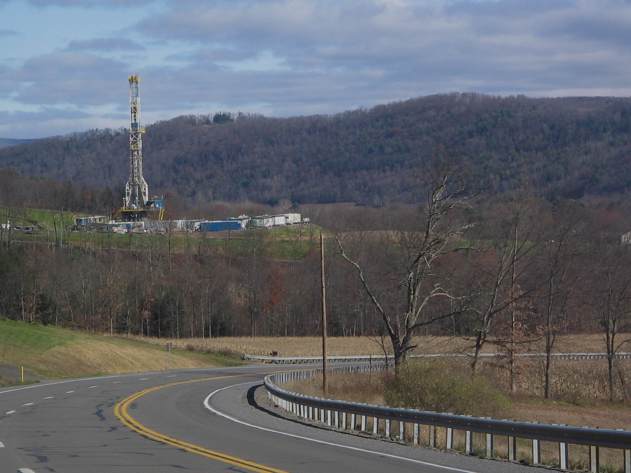 Fracking in the Marcellus Shale
